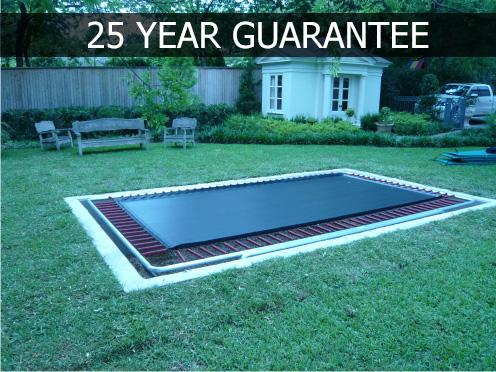 in ground trampoline. In Ground Trampoline G